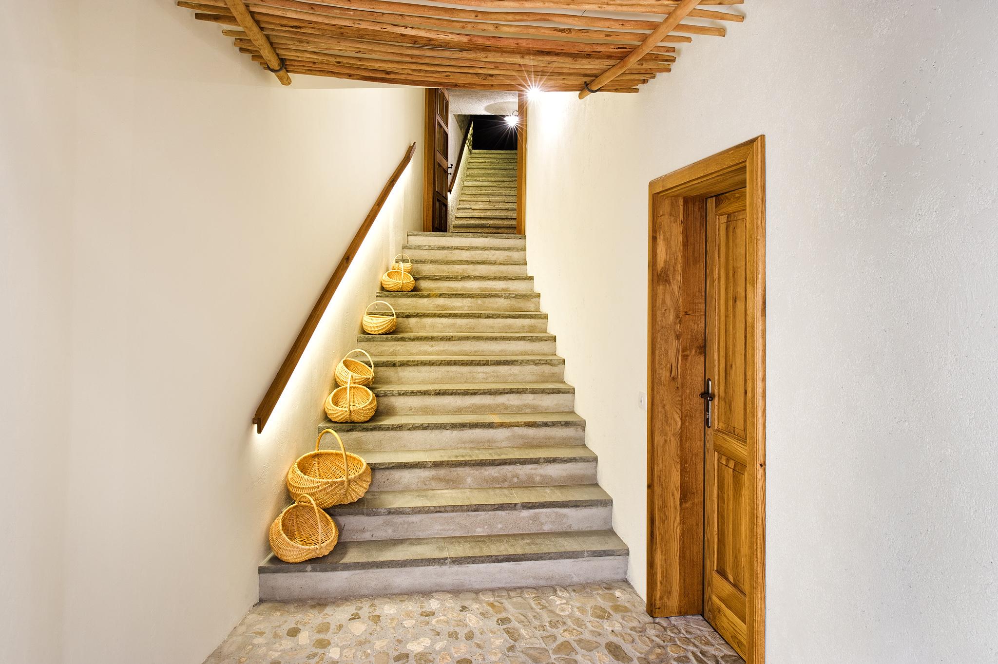 Majerija, stopnišče