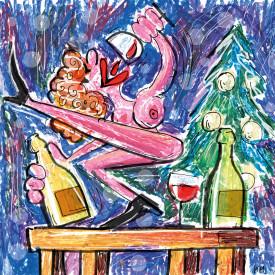 Revija Vino · ilustracija