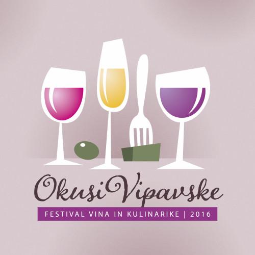 Okusi Vipavske 2016 · ilustracija