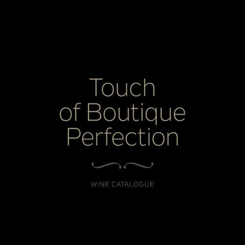 Exquisite Wines · Katalog butičnih vin