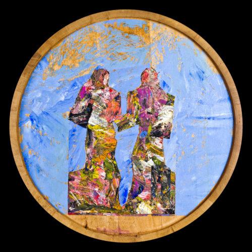 Vina Ščurek · reprodukcije poslikanih sodov
