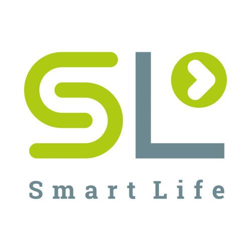 SL · Smart Life · oblikovanje logotipa