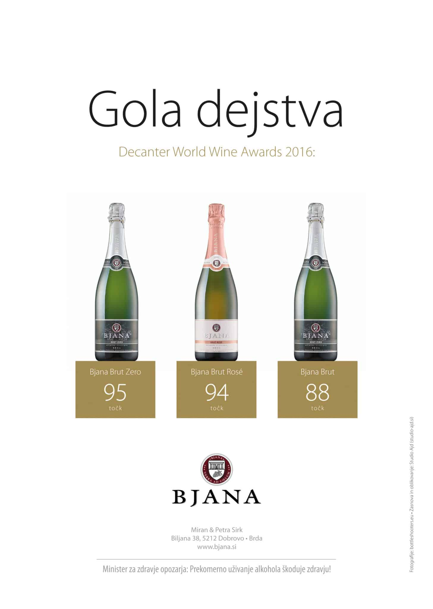 Bjana - oglas Gola dejstva