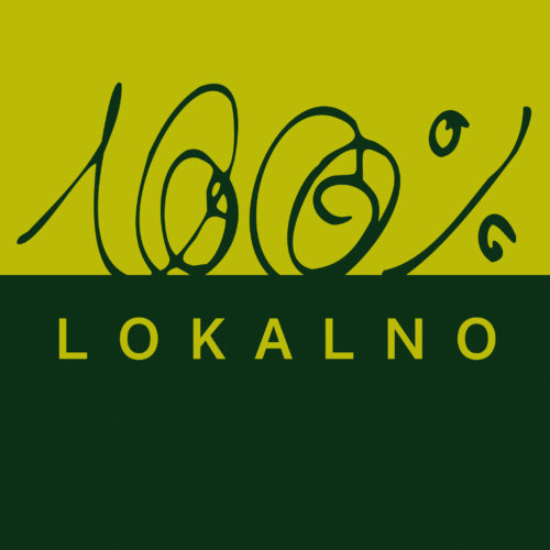 100 % lokalno · logotip