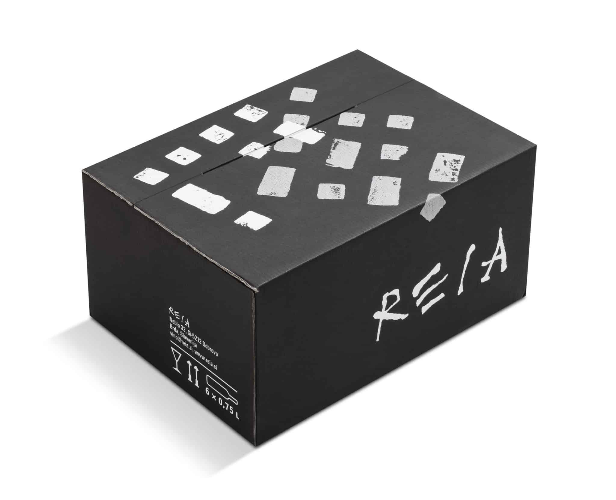 Reia - transportni karton 6 × 0,75 l