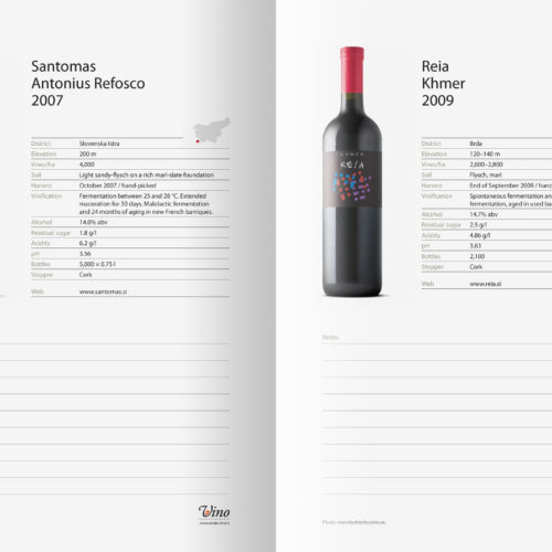 Slovenia Wine Stars and Hidden Treasures - katalog, str. 14 in 15