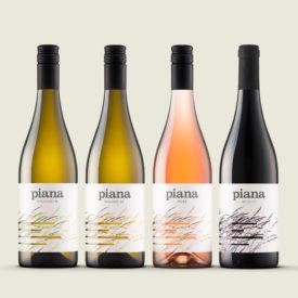 Piana · Etikete za vina