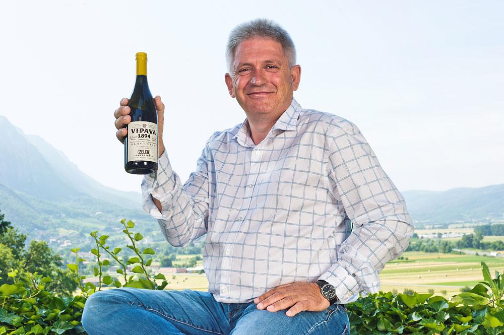 Jakob Blaschitz, direktor vinske kleti Vipava 1894