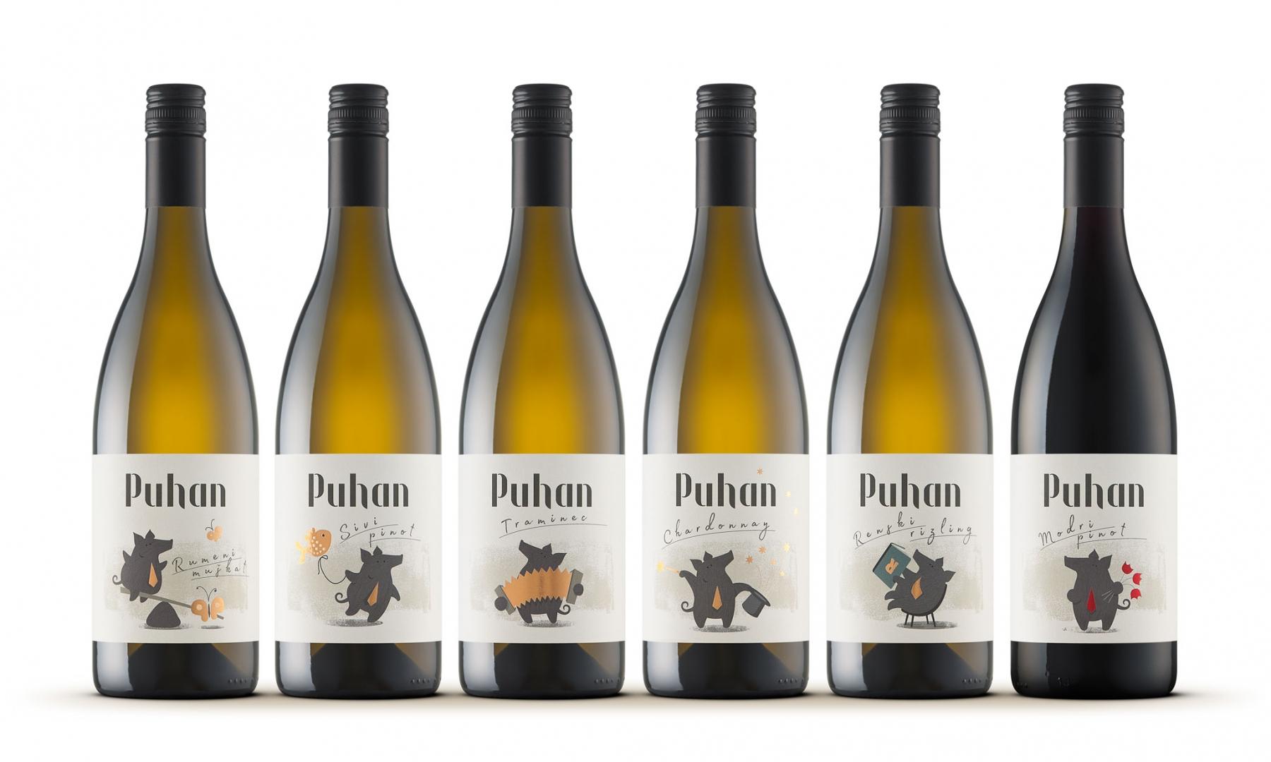 Vina Puhan: vsaka etiketa ima svojo prepoznavno asociativno ilustracijo