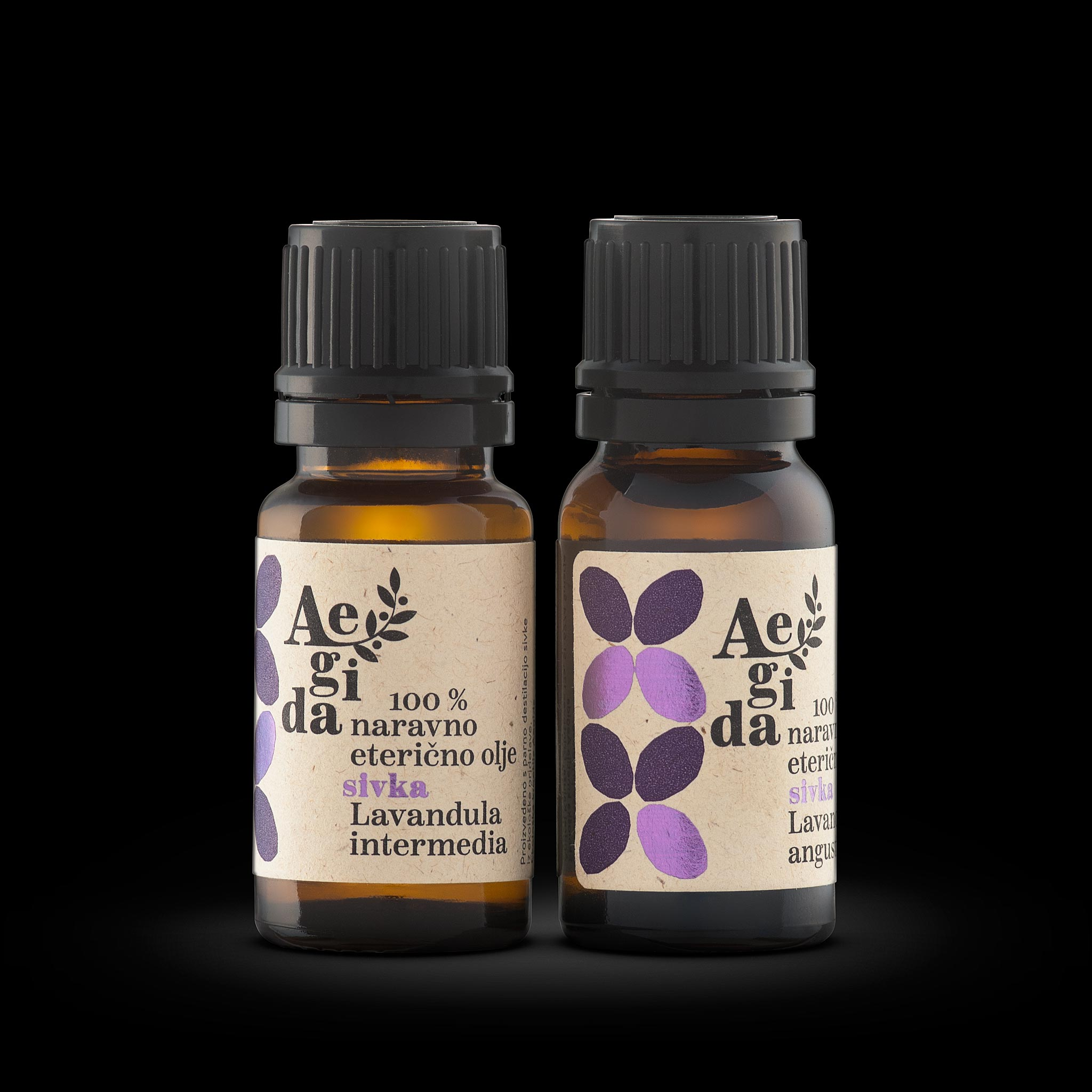 Aegida - Eterično olje - Sivka - 10 ml